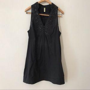 Free People Black Tunic Dress (L)
